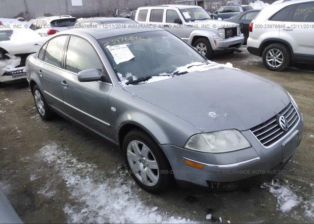 Inventory #429154513 2002 Volkswagen PASSAT