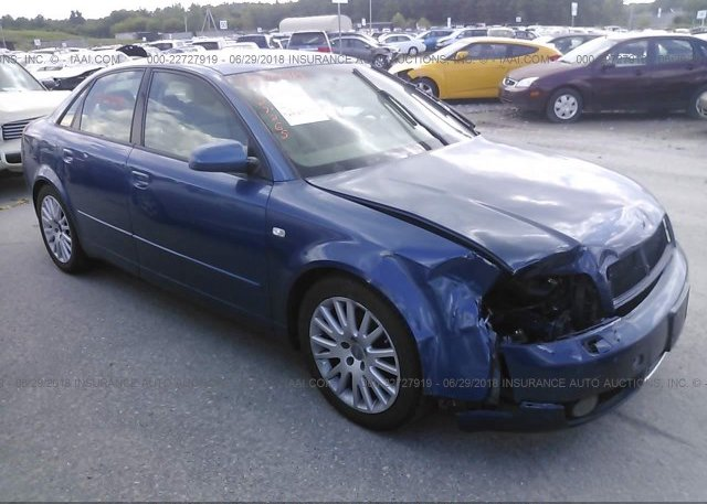 WAULCEA Salvage Blue Audi A At SALEM NH On Online - Car insurance for audi a4
