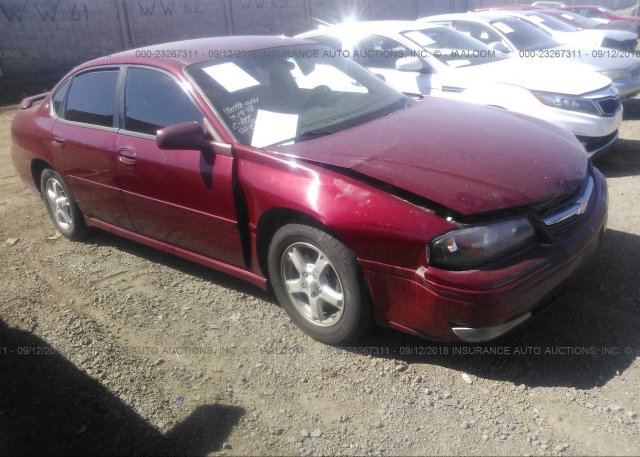 Inventory #540806603 2005 Chevrolet IMPALA