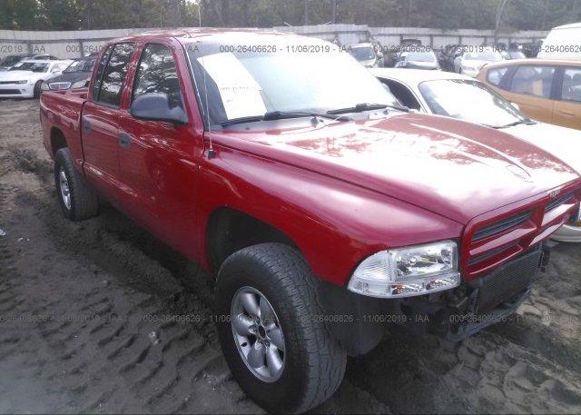Inventory #788202919 2003 Dodge DAKOTA