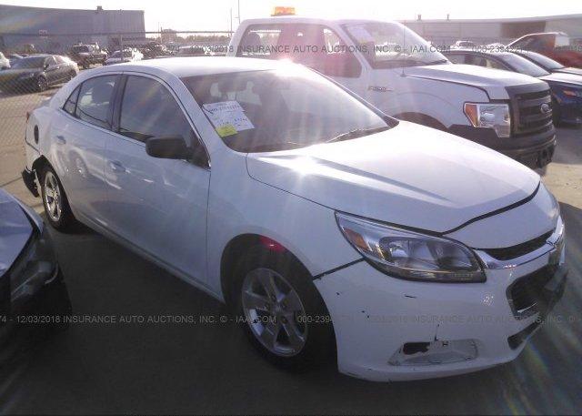 Inventory #354472634 2016 Chevrolet MALIBU LIMITED