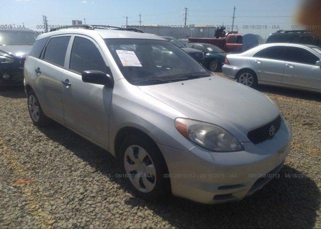 Inventory #157204272 2004 Toyota COROLLA MATRIX