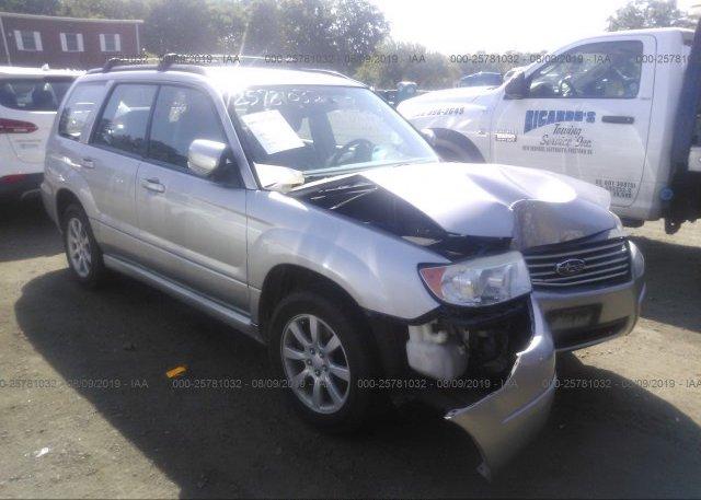 Inventory #862001153 2007 Subaru FORESTER