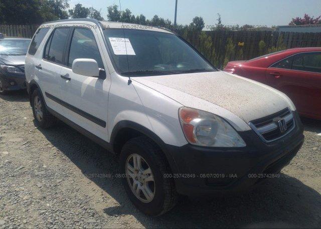 Inventory #896185635 2003 Honda CR-V