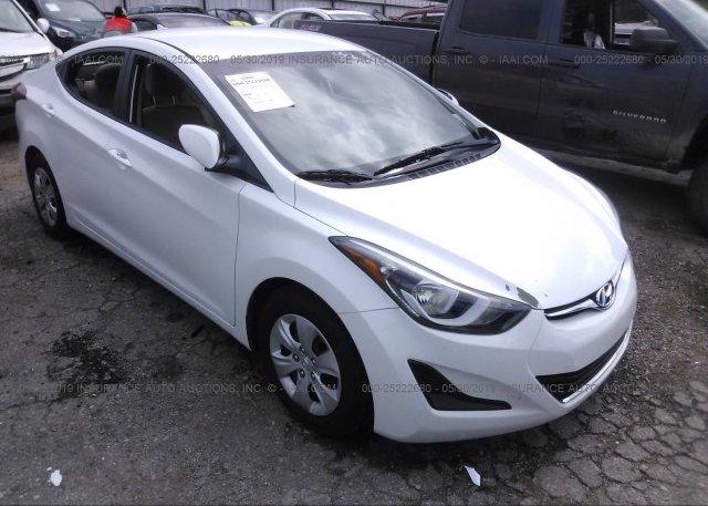 Inventory #389558214 2016 Hyundai ELANTRA