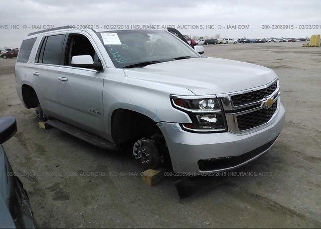Inventory #887870505 2016 Chevrolet TAHOE