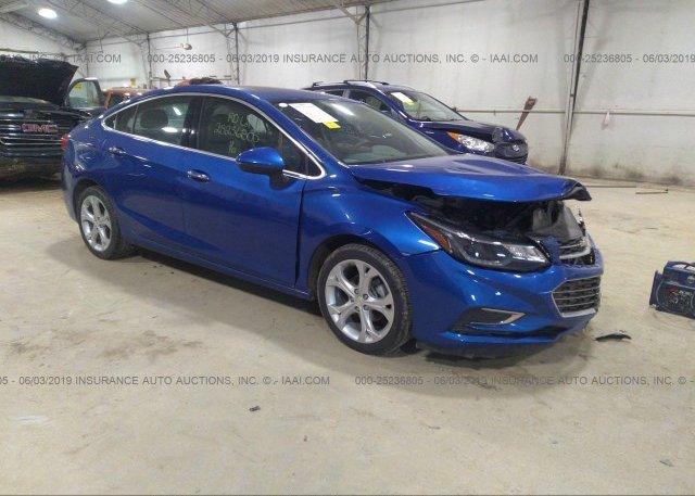 Inventory #143282160 2016 Chevrolet CRUZE