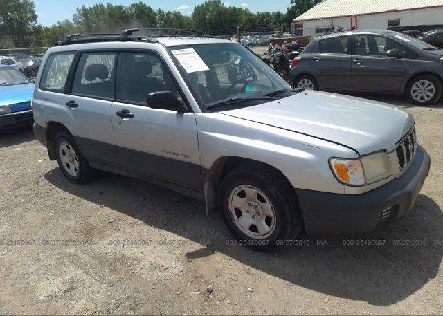 Inventory #928299723 2002 Subaru FORESTER