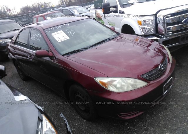 Inventory #525484924 2003 Toyota CAMRY