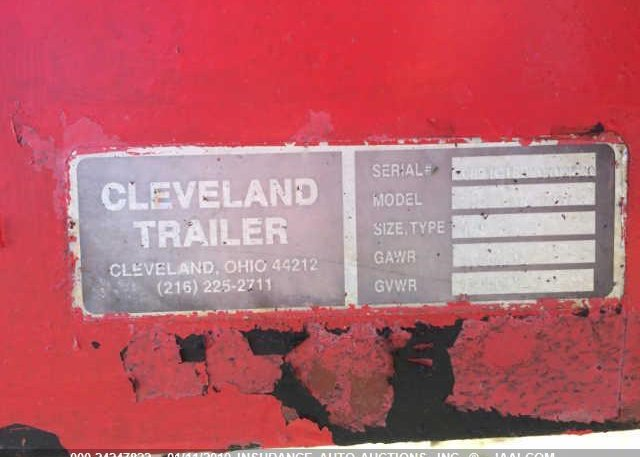 1989 TRAILER 18' CAR HAULER - 0891C18B20702320