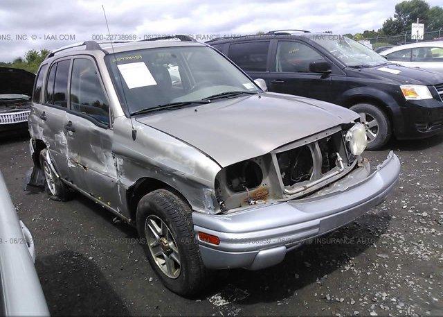 Inventory #780852602 2002 Chevrolet TRACKER
