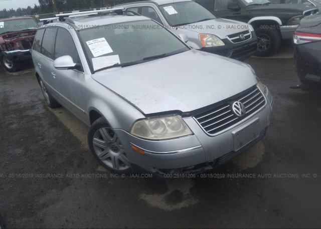 Inventory #634527041 2005 Volkswagen PASSAT