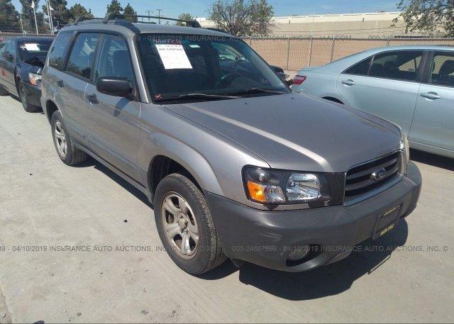 Inventory #912768387 2005 Subaru FORESTER