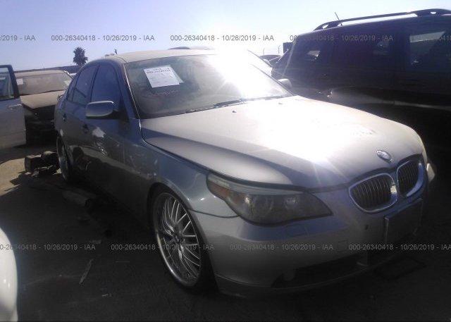 Inventory #593607244 2007 BMW 550