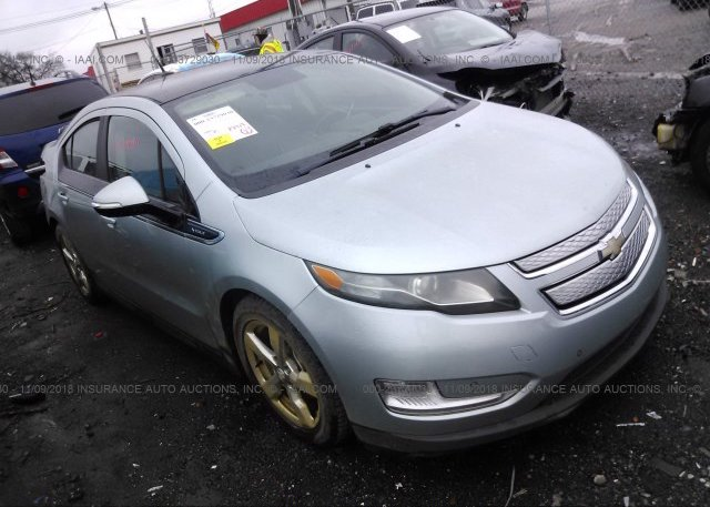 1g1rb6e46cu105101 Salvage Teal Chevrolet Volt At Nashville