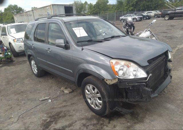 Inventory #937727811 2006 Honda CR-V