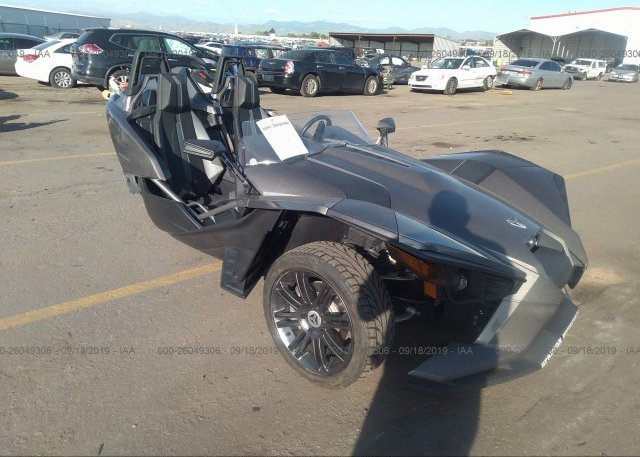 2016 Polaris Slingshot >> 57xaasfa3g5111708 Salvage Silver Polaris Slingshot At