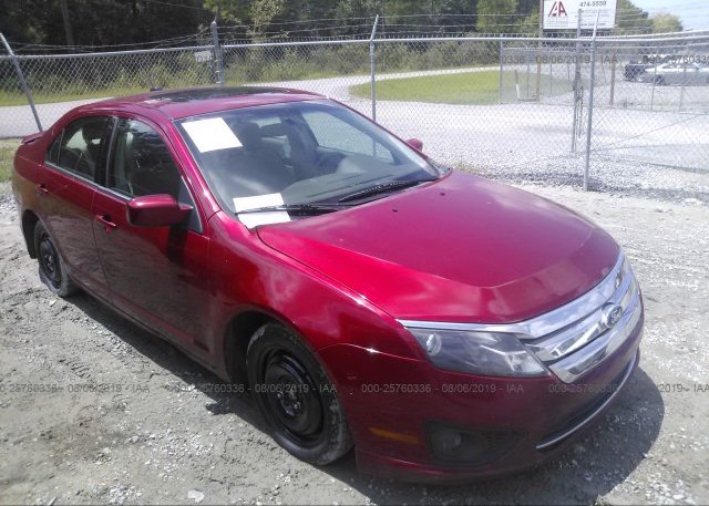 Inventory #756392304 2012 FORD FUSION