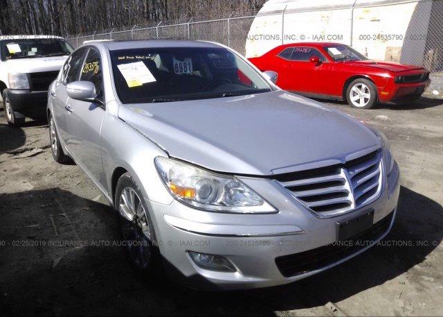 Inventory #546301214 2009 Hyundai GENESIS