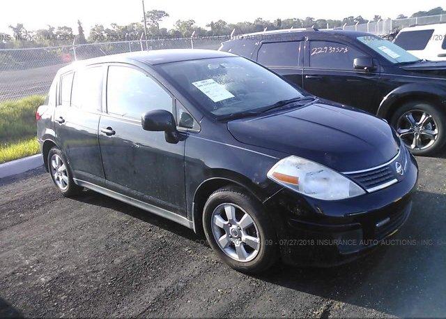 3n1bc13e08l381850 Clear Black Nissan Versa At Hudson Fl On Online
