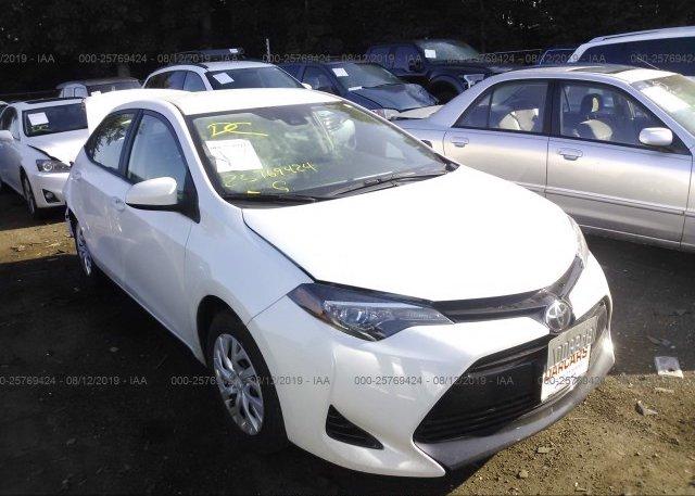 Inventory #882427621 2018 Toyota COROLLA
