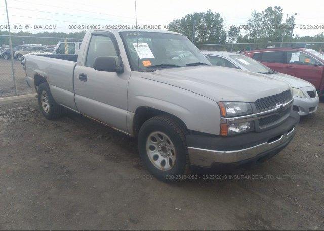 Inventory #464880771 2005 Chevrolet SILVERADO