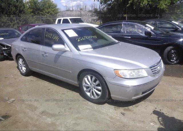 Inventory #422463583 2007 Hyundai AZERA