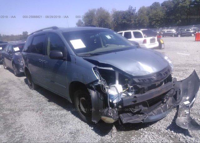 Inventory #618234300 2006 Toyota SIENNA