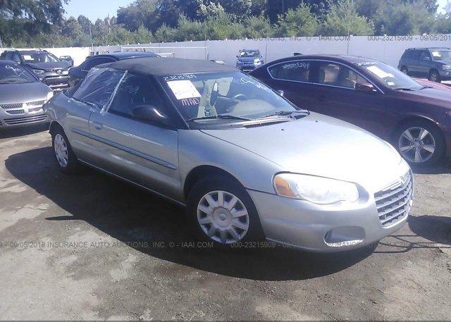 Inventory #878307441 2006 Chrysler SEBRING
