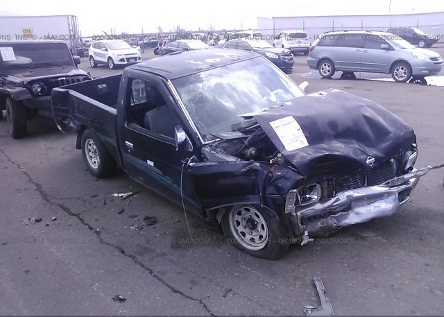 1n6sd11s1vc406424 parts only bill of sale green nissan truck at