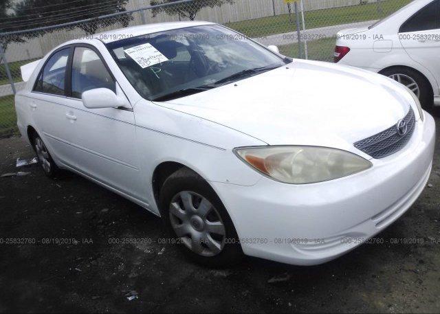 Inventory #574845104 2002 Toyota CAMRY