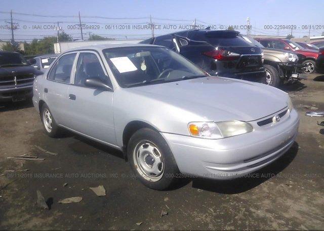Inventory #101630840 2000 Toyota COROLLA