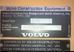 1999 VOLVO L90C - L90CV63456 engine view