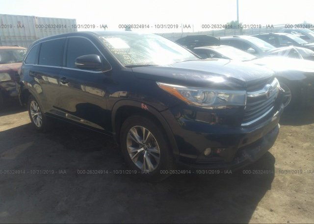 Inventory #775411288 2016 Toyota HIGHLANDER