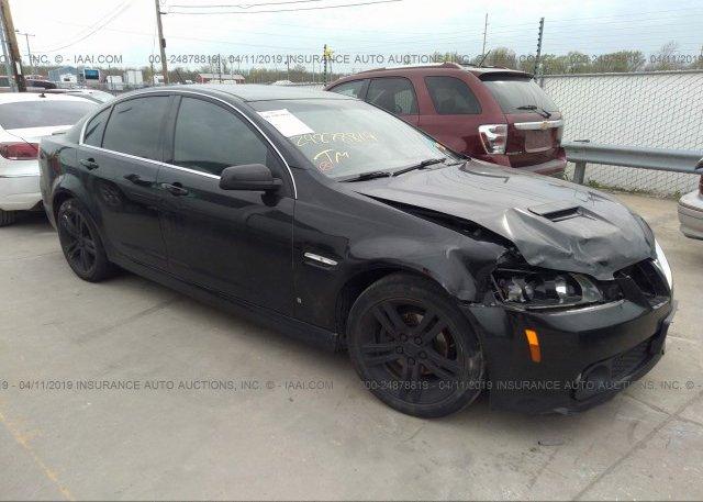 Inventory #731848104 2008 Pontiac G8