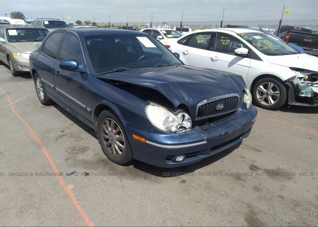 Inventory #619956523 2003 Hyundai SONATA