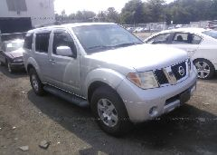 Salvage Pathfinder Nissan SUV for Sale Online Auto Auction