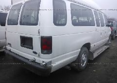 2007 FORD ECONOLINE - 1FBSS31L47DA67849 rear view