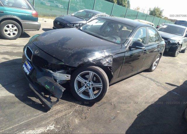 из сша 2013 BMW 3 SERIES WBA3B5C54DJ598814
