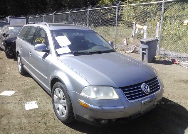 Inventory #919358662 2005 Volkswagen PASSAT