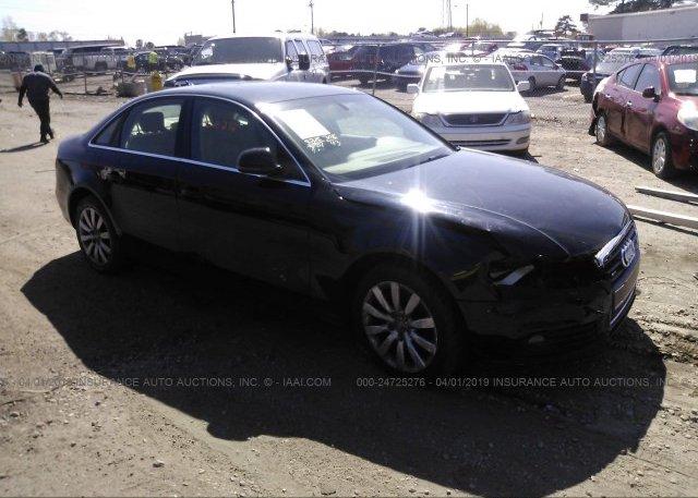 Inventory #601017150 2009 AUDI A4