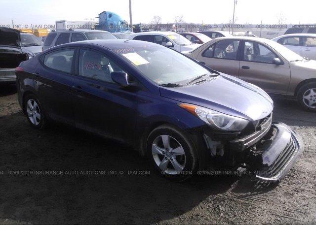 Inventory #887695159 2013 Hyundai ELANTRA