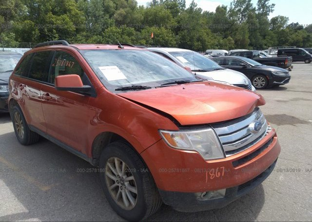 Inventory #895863761 2007 FORD EDGE