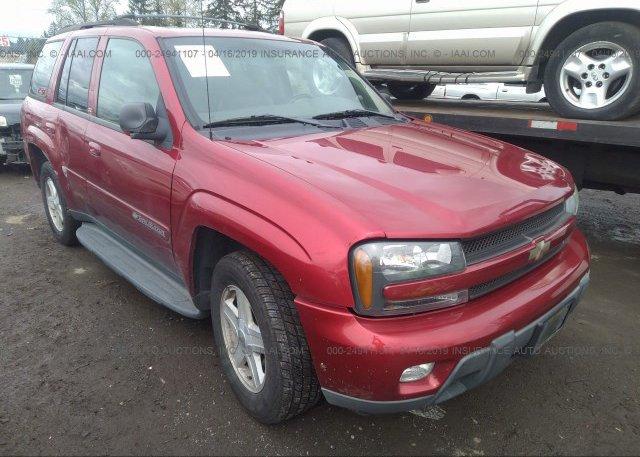 Inventory #809800233 2002 Chevrolet TRAILBLAZER