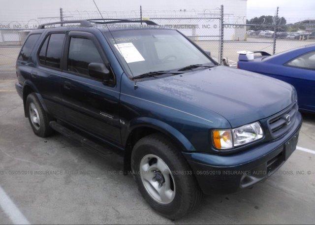 Inventory #632201867 2001 Honda PASSPORT