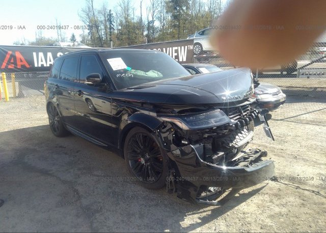 Inventory #110784862 2018 LAND ROVER RANGE ROVER SPORT