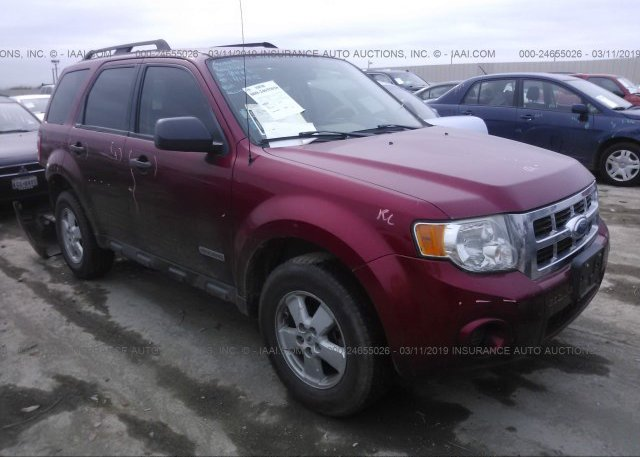 Inventory #956451097 2008 FORD ESCAPE