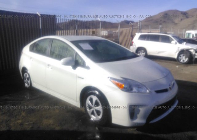Bidding Ended On Jtdkn3du4e0389404 Salvage Toyota Prius At