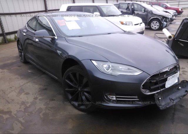 Inventory #861126997 2015 Tesla MODEL S