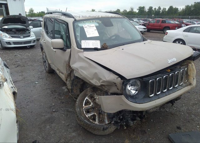 Inventory #250807132 2016 JEEP RENEGADE